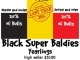 MC Quantock Summer Fall Black Super Baldie 2014 Sale Average